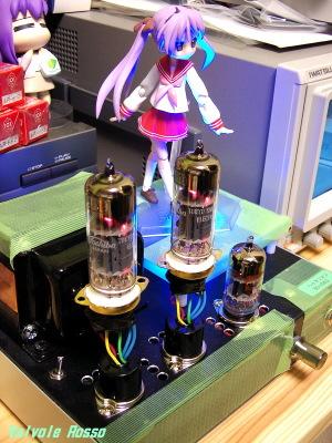 ソケット変換アダプターを製作して6JY8三結の音を聴いてみた