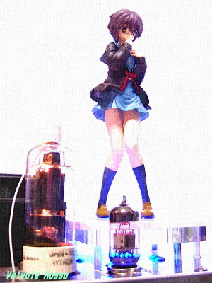 6N2PEV-HY65 Single Ended Amplifier Banpresto B lottery prize Yuki Nagato ver The disappearance of Haruhi Suzumiya Ichiban Kuji Premium PVC Figure Water Painting