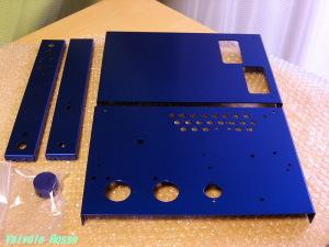 カラーアルマイト処理 (青)ブルー