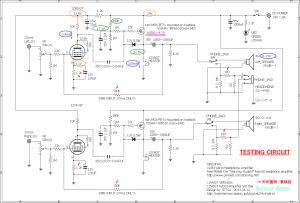 12V6GT VISHAY IRF610 hybrid Amplifier (Tube Headphone Amplifier) TESTING CIRCUIT