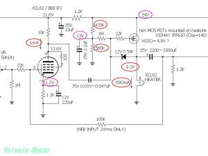 XCL82 (8B8) VISHAY IRF610 hybrid Amplifier (Tube Headphone Amplifier) TESTING CIRCUIT