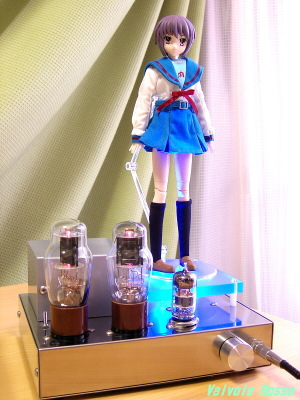 6DJ8-1626 Single Ended Amplifier (Tube Headphone Amplifier) Megahouse x Obitsu 25cm Action Figure Collection+  Melancholy Haruhi Suzumiya Yuki Nagato Magician Version