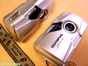 OLYMPUS μ-Ⅱ (35mm F2.8 単焦点レンズ搭載コンパクトカメラ)