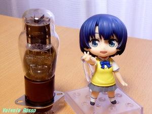 Panasonic LUMIX DMC-FX80 Vacuum Tube 1626 & Good Smile Company PVC Figure Nendoroid Waiting in the Summer Kanna Tanigawa