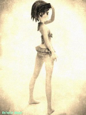 WAVE Beach Queens とある魔術の禁書目録II 御坂妹 ES Panasonic LUMIX DMC-FX80 FotoSketcher Vintage photo