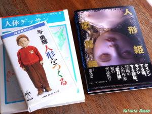 恋月姫の初写真集 と 河口湖ミューズ館で購入した 与勇輝 人形の作り方のビデオ
