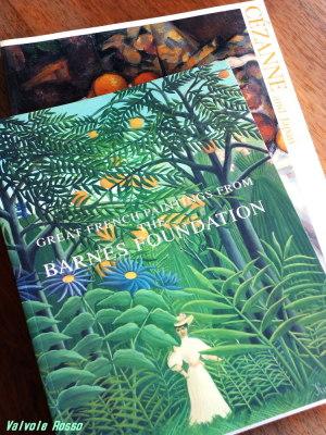 バーンズ・コレクション展 図録(1994年)国立西洋美術館 と セザンヌ展 図録(1999年)横浜美術館