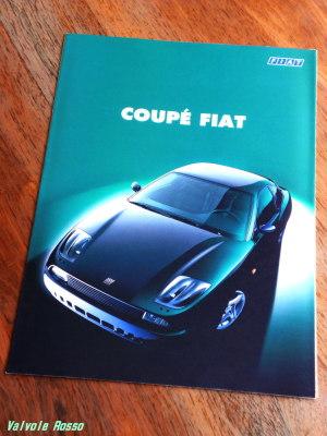 COUPE FIAT のカタログ(1995年版?)