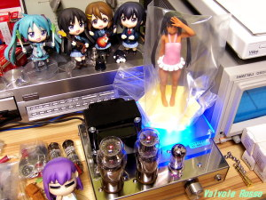 12AX7-1626 Single Ended Amplifier (Tube Headphone Amplifier) Wave beach queens けいおん 中野梓 日焼けVer.
