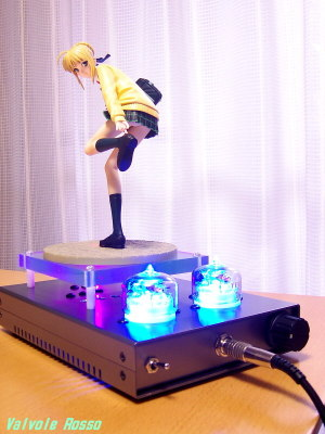 TESLA RC5B VISHAY IRF610 hybrid Headphone Amplifier (Tube Headphone Amplifier) Hobby Japan Fate/stay night High School Girl Saber (HJ limited ver.)