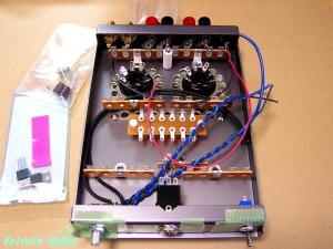 シャーシは、1626ハイブリッドヘッドフォンアンプのシャーシを流用