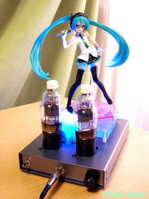 Panasonic LUMIX DMC-F7 EL32 / 1626 Mu Follower hybrid Headphone Amplifier (Tube Headphone Amplifier) Ver.08 Good Smile Company 1/8 Scale PVC figure Miku Hatsune: Lat-type Ver.