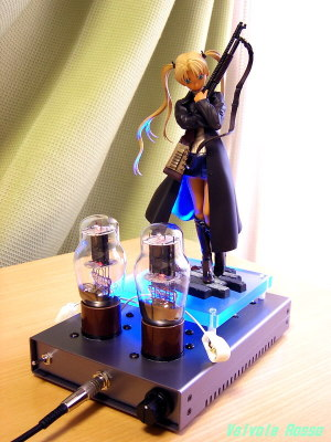 Panasonic LUMIX DMC-F7 EL32 / 1626 Mu Follower hybrid Headphone Amplifier (Tube Headphone Amplifier) Ver.08 Good Smile Company 1/8 Scale PVC figure GUNSLINGER GIRL Triela