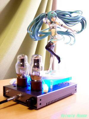 EL32/1626(12A6GT/12V6GT) Mu Follower Hybrid Headphone Amplifier (Tube Headphone Amplifier) Ver.08 GOODSMILE RACING 1/8 Scale Pre-painted PVC Figure Vocaloid - Hatsune Miku Racing Miku 2012 Ver.