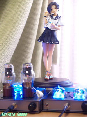 1626 Mu Follower Hybrid Headphone Amplifier & RC5B Hybrid Headphone Amplifier (Tube Headphone Amplifier) Clayz 1/6 scale PVC figure Loveplus PLUS Rinko Kobayakawa