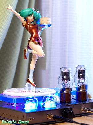 RC5B Hybrid Headphone Amplifier & 1626 Mu Follower Hybrid Headphone Amplifier (Tube Headphone Amplifier) Megahouse Excellent Model 1/8 scale PVC Figure Macross Frontier Ranka Lee Nyan-Nyan Ver. LC