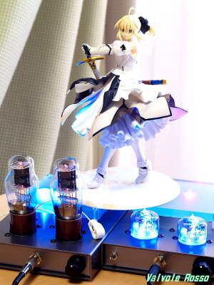 1626 Mu Follower Hybrid Headphone Amplifier & RC5B Hybrid Headphone Amplifier (Tube Headphone Amplifier) ALTER 1/8 scale PVC Figure Fate/Unlimited Codes Saber Lily
