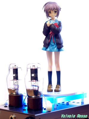 1626 Mu Follower Hybrid Headphone Amplifier (Tube Headphone Amplifier) Max Factory 1/8 scale PVC figure The Melancholy of Haruhi Suzumiya Yuki Nagato