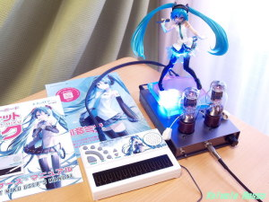 歌うキーボード ポケット・ミク POCKET MIKU (大人の科学マガジン特別編集) EL32 / 1626 Mu Follower hybrid Headphone Amplifier (Tube Headphone Amplifier) Ver.08 Good Smile Company 1/8 Scale PVC figure Miku Hatsune: Lat-type Ver.