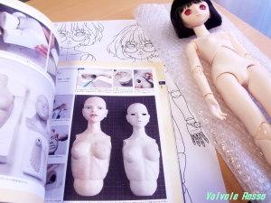 現在は、吉田式II 球体関節人形 制作指導書 に、ビスク(モデリング・キャスト)用の石膏型の作り方が載っているので重宝します。
