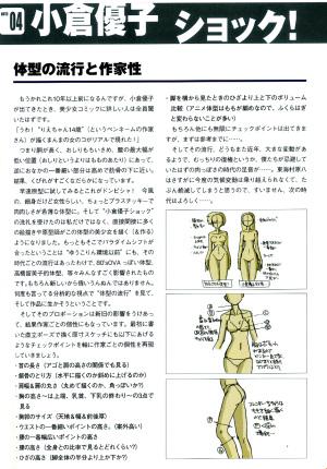 """フィギュアの達人 上級編 コラム """"体型の流行と作家性"""""""