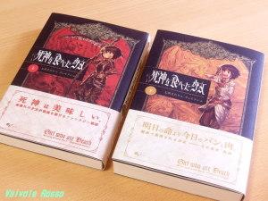 七沢またり 著 書籍版 死神を食べた少女 (上)(下)