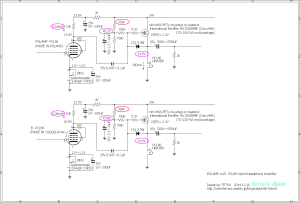 PCL86真空管ハイブリッドアンプの実験まとめ POLAMP vs Ei  PCL86 hybrid Headphone Amplifier