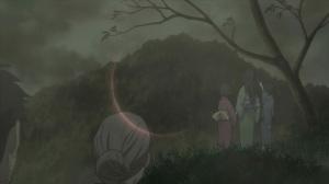 蟲師 『日蝕む翳』日食のシーン 『篝野行』野萩と村の子供達