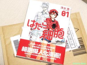 清水茜著 はたらく細胞 第1巻 (シリウスKC) コミック