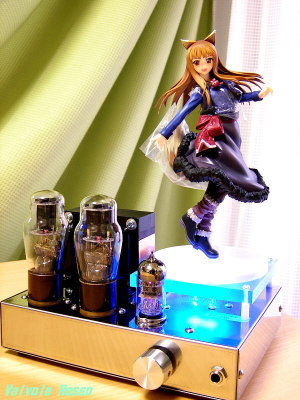 12AX7-1626 Single Ended Amplifier (Tube Headphone Amplifier) Good Smile Company 1/8 Scale PVC Figure Spice and Wolf : Holo