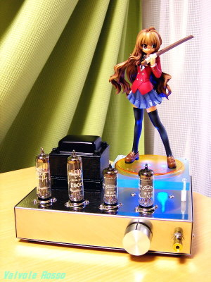 6AU6-E90CC(parallel) Single Ended Amplifier (Tube Headphone Amplifier) MegaHouse Brilliant Stage Series 1/8 PVC Figure ToraDora! : Taiga Aisaka
