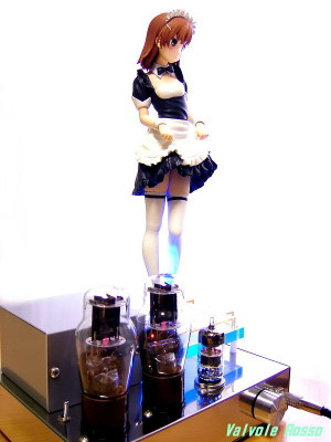 6DJ8-1626 Single Ended Amplifier (Tube Headphone Amplifier) Kotobukiya 4-Leaves 1/6 Scale PVC Figure Toaru Kagaku no Railgun : Mikoto Misaka A Certain Maid [ photo : Panasonic DMC-F7 ]