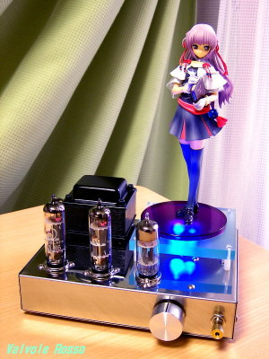 6414-PCL86(pentode) Single Ended Amplifier (Tube Headphone Amplifier) Kotobukiya 1/8 Scale PVC Figure Brighter than Dawning Blue: Estel Freesia [ photo : Panasonic DMC-F7 ]