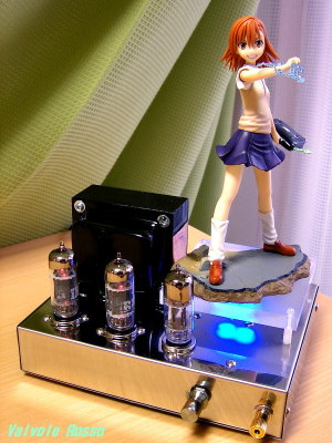 6414-6463(parallel) Single Ended Amplifier (Tube Headphone Amplifier) Kotobukiya 1/8 Scale PVC Figure To Aru Majutsu no Index : Mikoto Misaka [ photo : Panasonic DMC-F7 ]