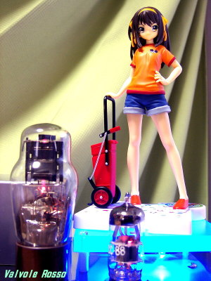 6DJ8-1626 Single Ended Amplifier (Tube Headphone Amplifier) Sega Extra Figure Melancholy of Haruhi Suzumiya Sasanoha Rhapsody : Haruhi Suzumiya [ photo : Panasonic DMC-F7 ]
