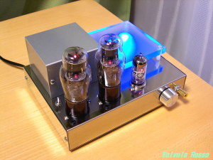 6DJ8-1626 Single Ended Amplifier (Tube Headphone Amplifier) 6DJ8-1626シングル真空管ヘッドフォンアンプ