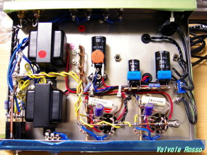 Kasugamusen Parts Kit (KA-09SE =Discontinued) 6AU8A Single Ended Amplifier wiring