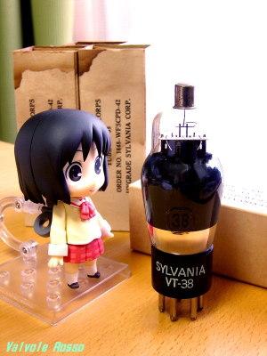 Tube: Hygrade Sylvania 38 Good Smile Company Nendoroid Nichijou : Nano Shinonome