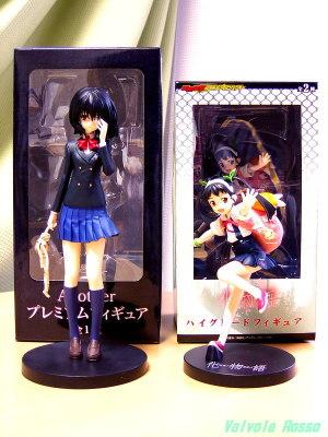 SEGA PM Figure Another : Mei Misaki & SEGA HG Figure Bakemonogatari : Mayoi Hachikuji [ photo : Panasonic DMC-F7 ]