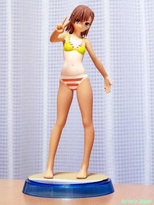 SEGA Prize Premium Summer Beach Figure Toaru Kagaku no Railgun S : Mikoto Misaka [ photo : OLYMPUS E-300 & PENTACON auto 50mm F1.8 Muluti Coating ]