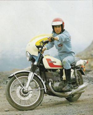 SUZUKI GT380 仮面ライダー 藤岡弘