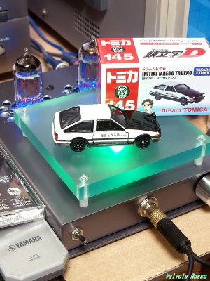 JJ ECC802S IRLI520N hybrid Headphone Amplifier (Tube Headphone Amplifier) Tomica Initial D : AE86 TRUENO