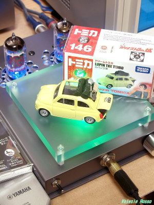 JJ ECC802S IRLI520N hybrid Headphone Amplifier (Tube Headphone Amplifier) Tomica Lupin the Third : The Castle of Cagliostro FIAT500