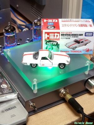 JJ ECC802S IRLI520N hybrid Headphone Amplifier (Tube Headphone Amplifier) Tomica Evangelion 2.22 : Nerv Official Business Coupe