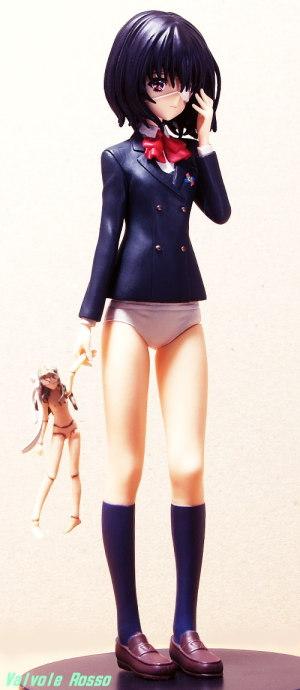 SEGAプライズ PMフィギュア Another : 見崎鳴 デッサンの参考の為、スカートをキャストオフしてみました。