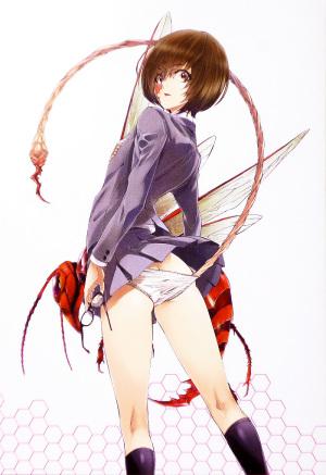 「ヒメノスピア」 コミック 第1巻 裏表紙イラスト 園藤姫乃