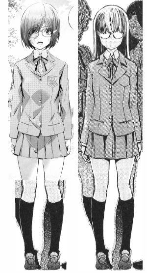 球体関節人形デッサン~ 「ヒメノスピア」園藤姫乃のドールボディ設計の為に、全身正面図のCAD描画用資料(アタリを取る為の下絵)を制作。なお、ヒザから下の絵は他のキャラから移植しました。。。(汗