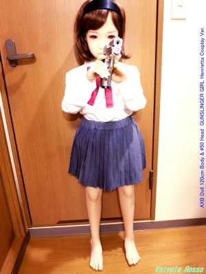 AXB Doll 120cm Body & #50 Head GUNSLINGER GIRL Henrietta Cosplay Ver.