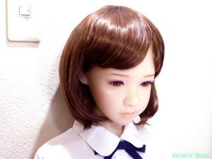 AXB Doll #50番ヘッド 最初からナチュラルメイクしてあるので、なんかもうこれで十分な気がしてきた。。。