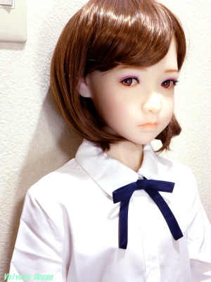 AXB Doll #50番ヘッド ドールアイの視線を調整。
